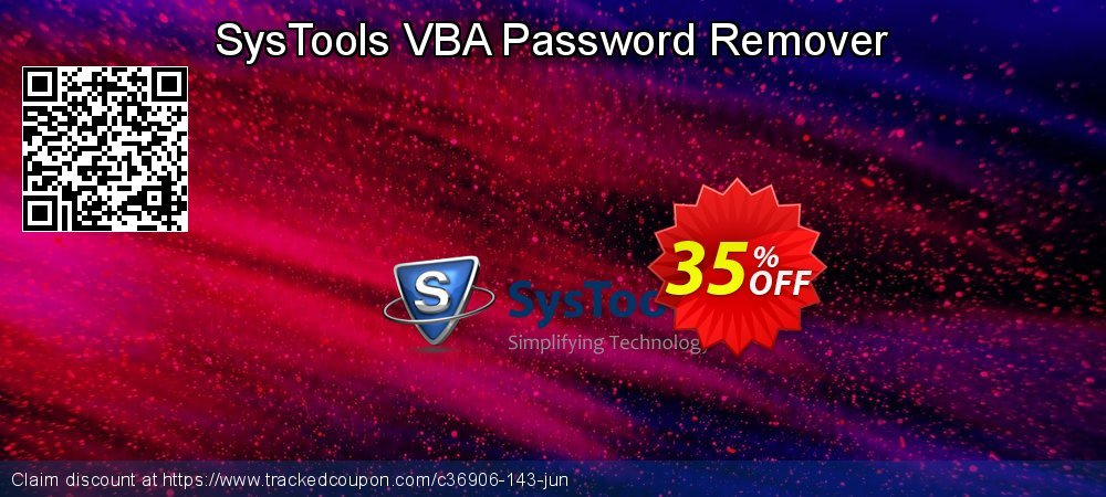 SysTools VBA Password Remover coupon on US Independence Day deals