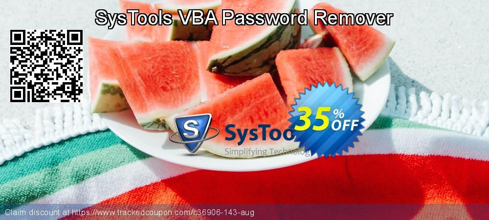 SysTools VBA Password Remover coupon on April Fool's Day sales