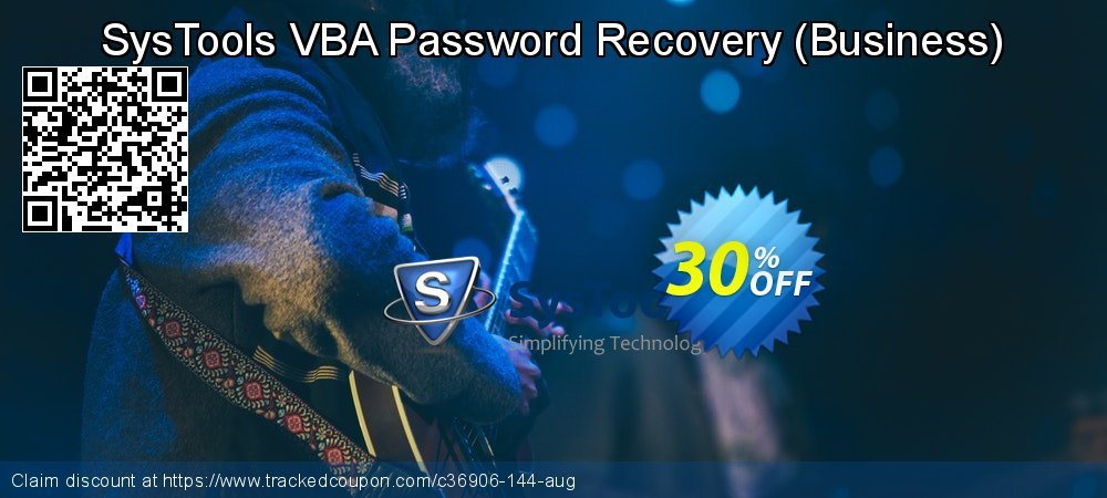 SysTools VBA Password Recovery - Business  coupon on World Population Day offer