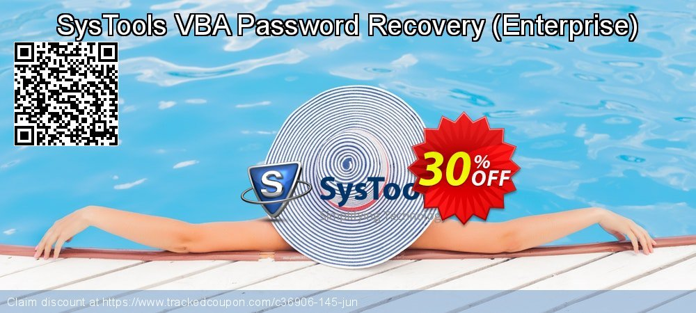 SysTools VBA Password Recovery - Enterprise  coupon on April Fool's Day offer