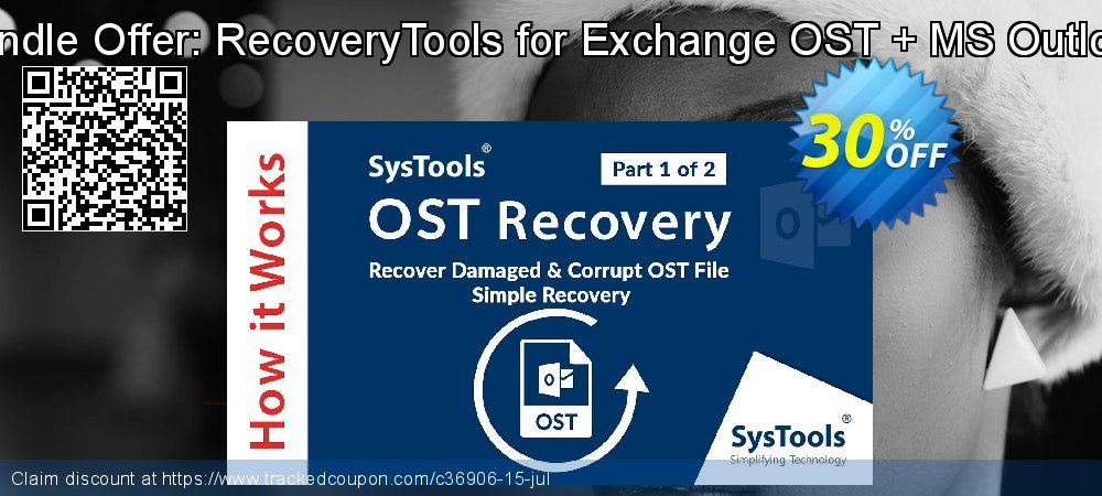 Bundle Offer: RecoveryTools for Exchange OST + MS Outlook coupon on Black Friday discount