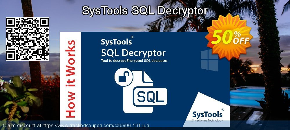 SysTools SQL Decryptor coupon on End year super sale