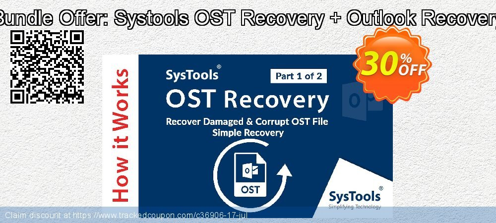 Bundle Offer: Systools OST Recovery + Outlook Recovery coupon on National Bikini Day deals