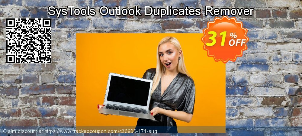 SysTools Outlook Duplicates Remover coupon on April Fool's Day offering discount