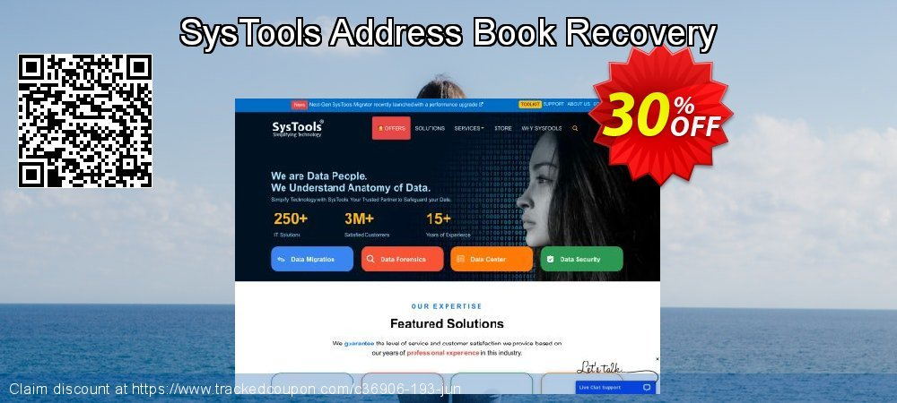 SysTools Address Book Recovery coupon on April Fool's Day offer