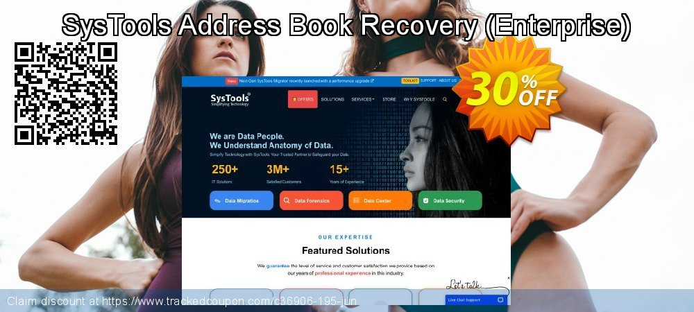 SysTools Address Book Recovery - Enterprise  coupon on April Fool's Day offering discount