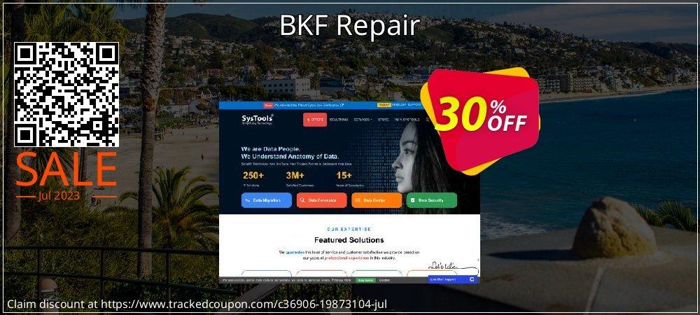 BKF Repair coupon on National Bikini Day promotions