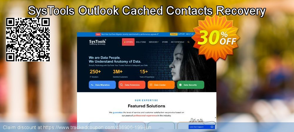 Claim 20% OFF SysTools Outlook Cached Contacts Recovery Coupon discount June, 2020