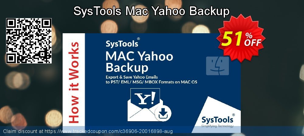 SysTools Yahoo Backup for MAC coupon on Year-End offering sales