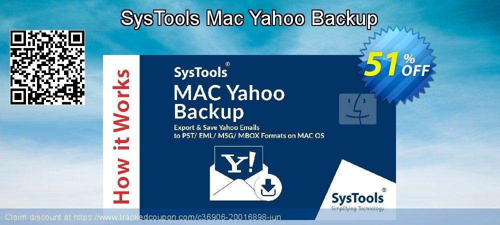 SysTools Mac Yahoo Backup coupon on April Fool's Day promotions