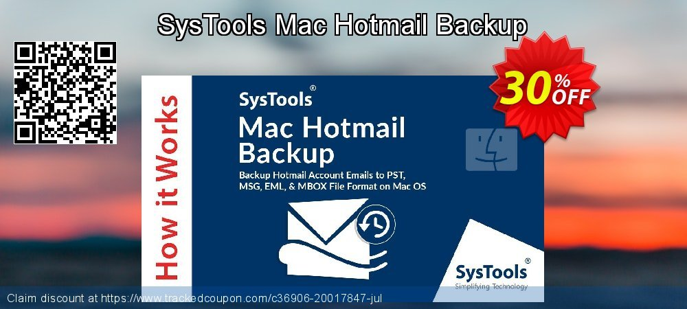 Claim 30% OFF SysTools Mac Hotmail Backup Coupon discount September, 2021