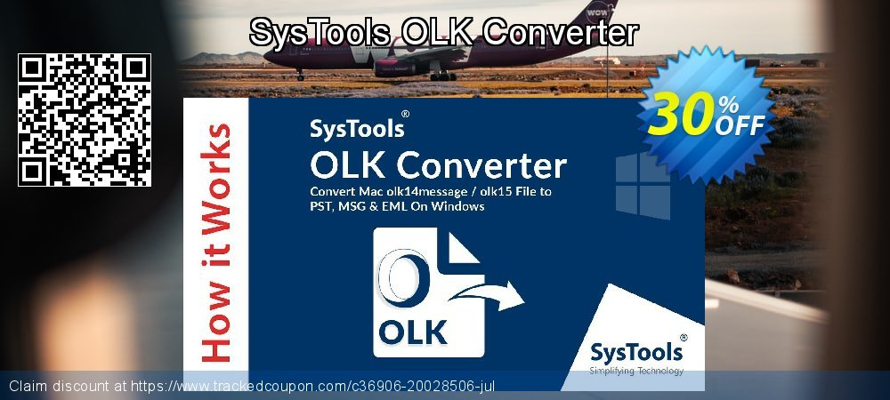 SysTools OLK Converter coupon on Father's Day super sale