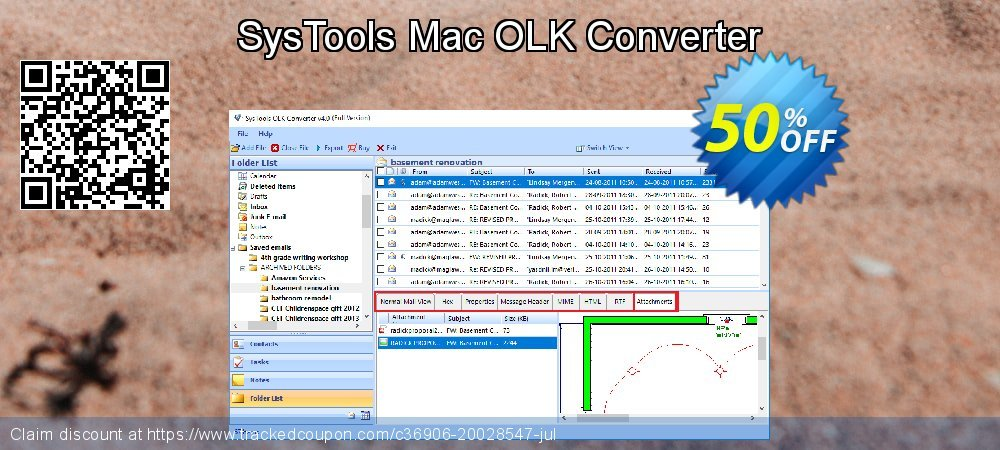 Get 20% OFF SysTools Mac OLK Converter offering sales