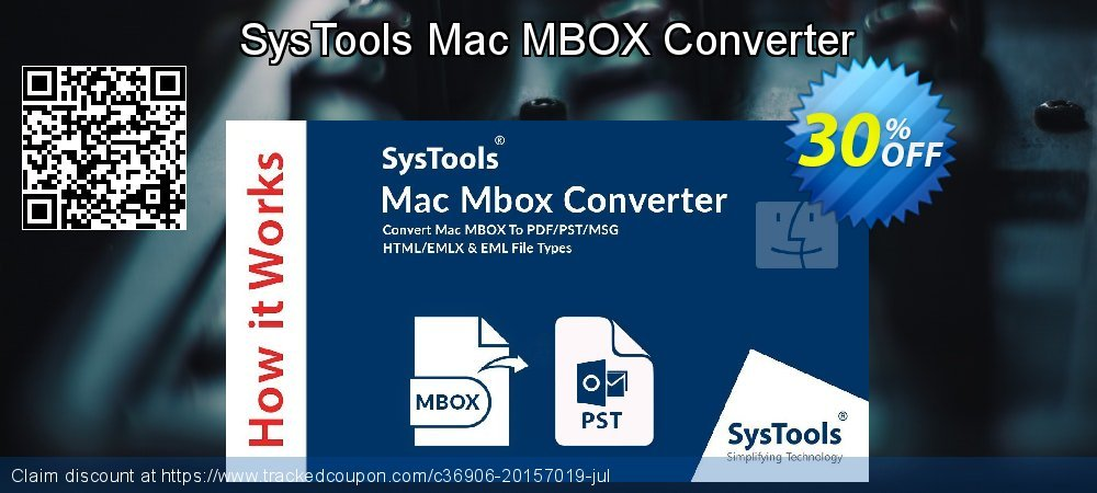 SysTools Mac MBOX Converter coupon on Spring discount