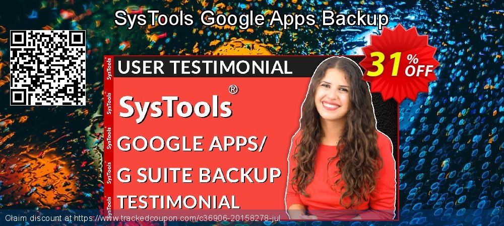 SysTools Google Apps Backup coupon on April Fool's Day offering discount