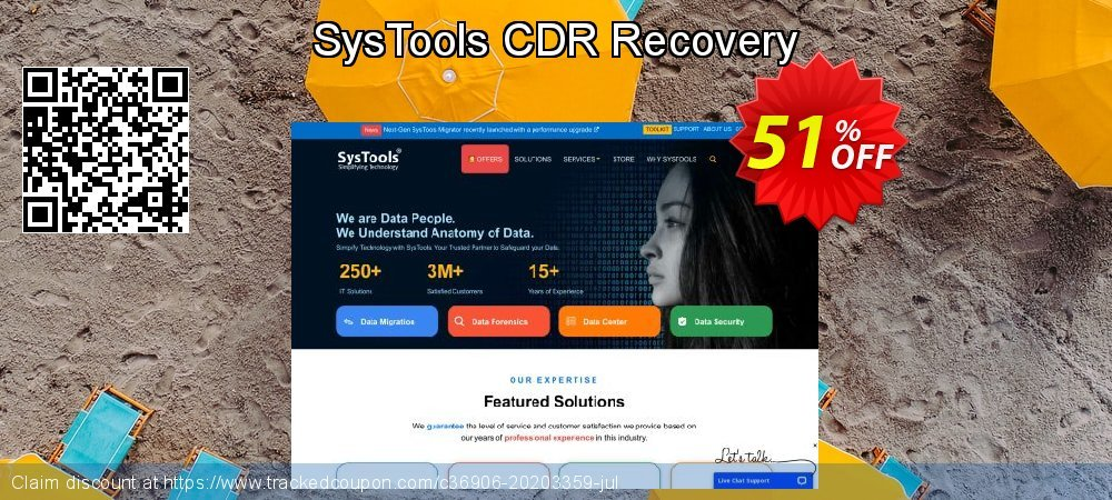 SysTools CDR Recovery coupon on National French Fry Day promotions