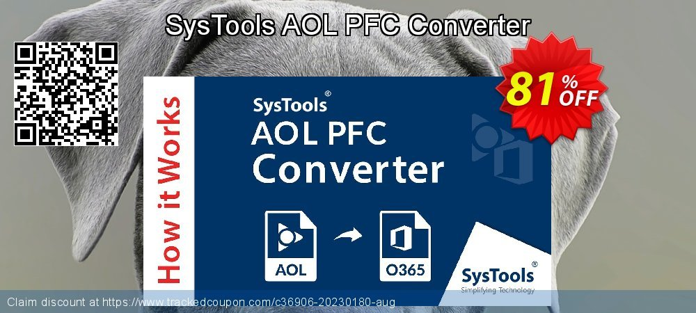 SysTools AOL PFC Converter coupon on World Smile Day discount