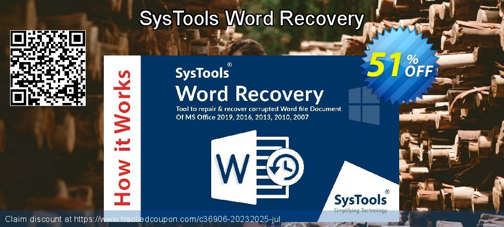 SysTools Word Recovery coupon on Easter Sunday deals
