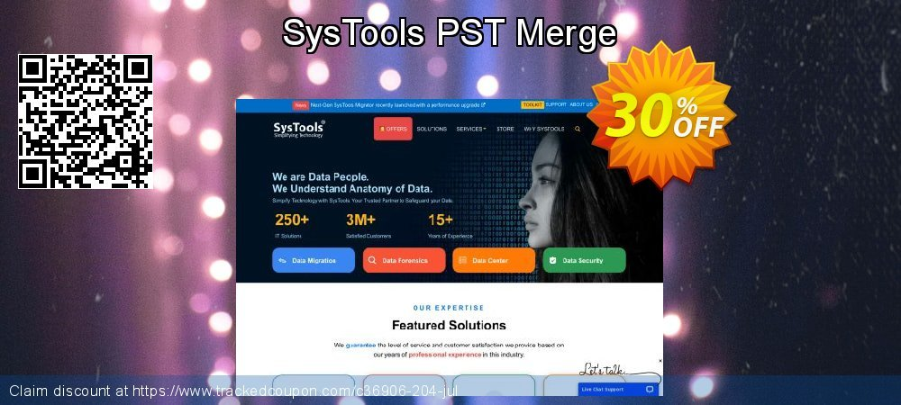 SysTools PST Merge coupon on World Chocolate Day promotions