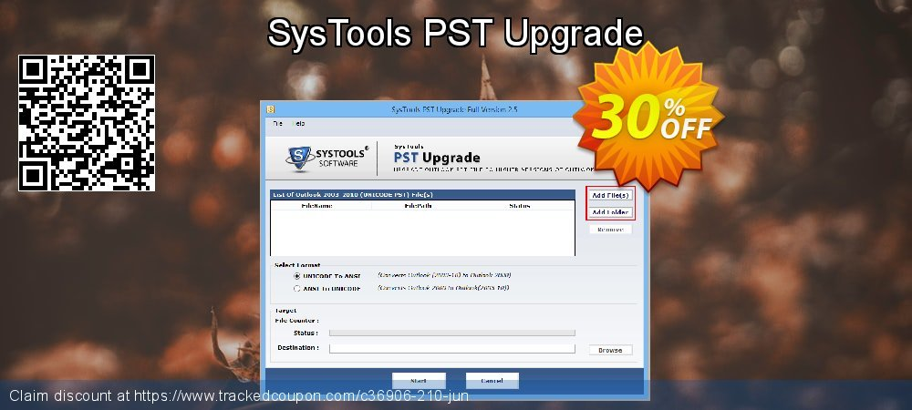 SysTools PST Upgrade coupon on Mid-year offering discount