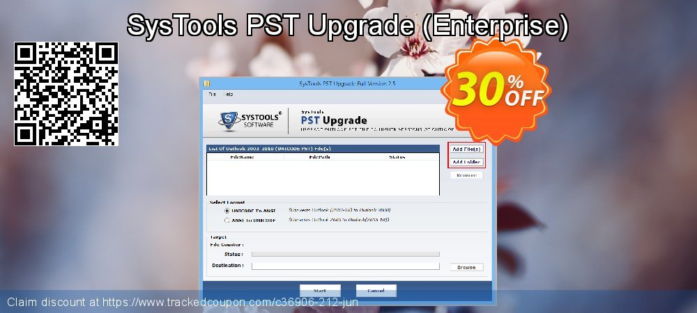 SysTools PST Upgrade - Enterprise  coupon on April Fool's Day discount