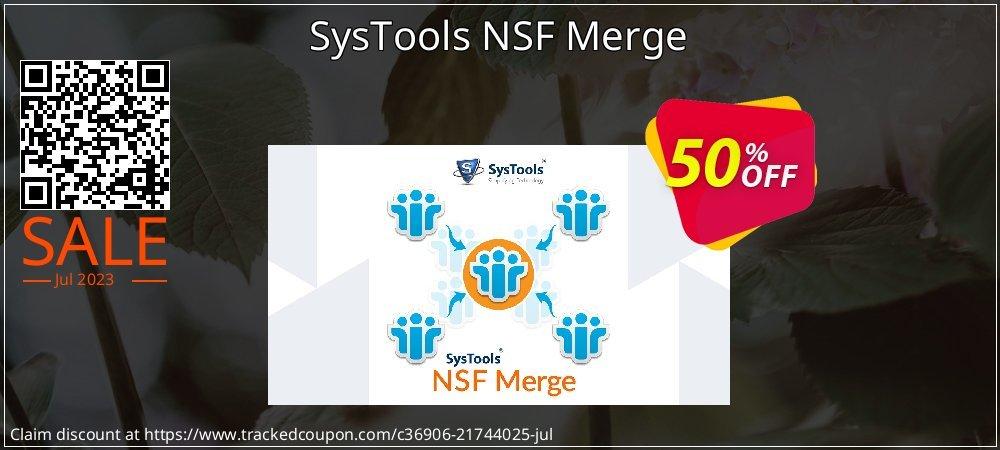 SysTools NSF Merge coupon on National Bikini Day sales