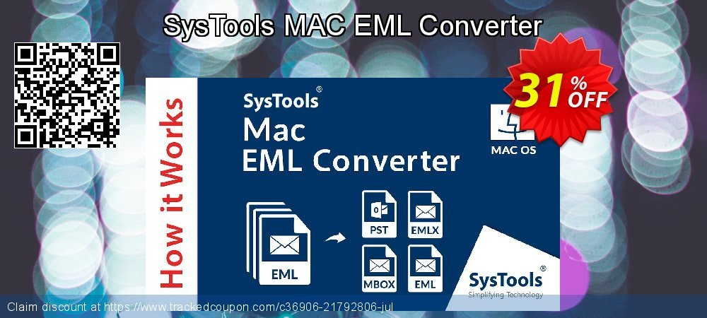 SysTools MAC EML Converter coupon on April Fool's Day super sale