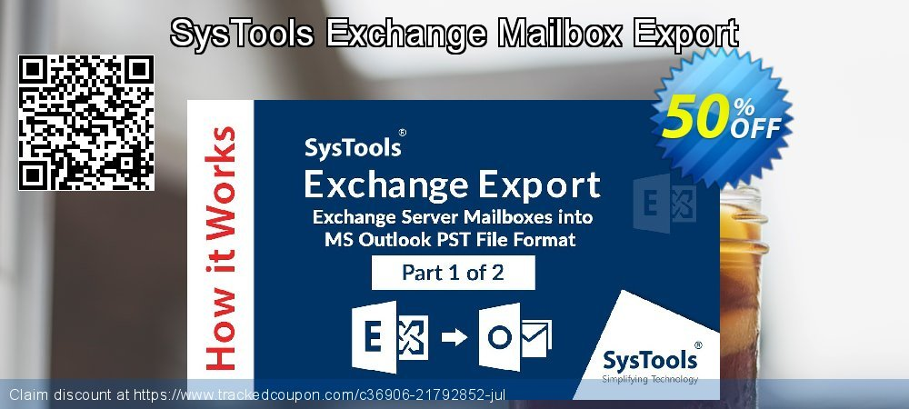 SysTools Exchange Mailbox Export coupon on 4th of July offer