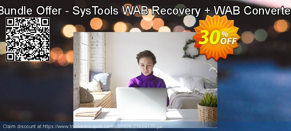 Bundle Offer - SysTools WAB Recovery + WAB Converter coupon on Back to School deals deals