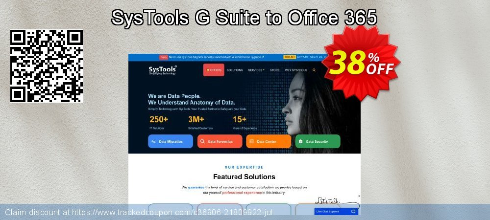 SysTools G Suite to Office 365 coupon on April Fool's Day deals