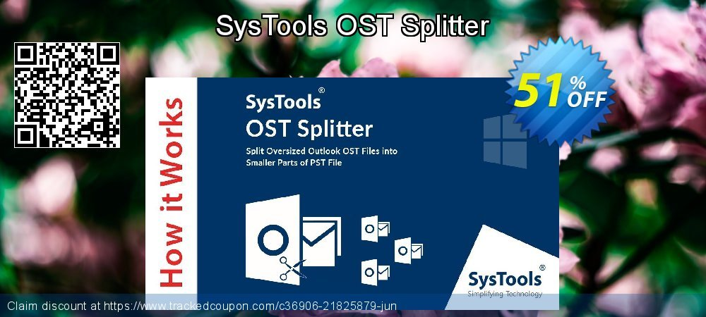 SysTools OST Splitter coupon on Spring sales
