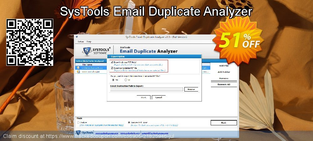 SysTools Email Duplicate Analyzer coupon on Thanksgiving discounts