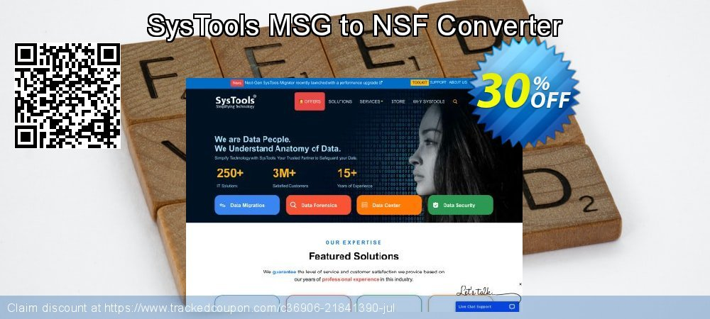 SysTools MSG to NSF Converter coupon on April Fool's Day offer