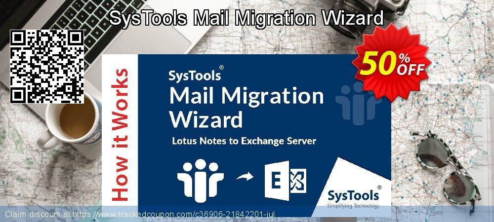 SysTools Mail Migration Wizard coupon on National Bikini Day offering discount