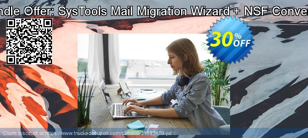 Bundle Offer: SysTools Mail Migration Wizard + NSF Converter coupon on National Bikini Day offering sales