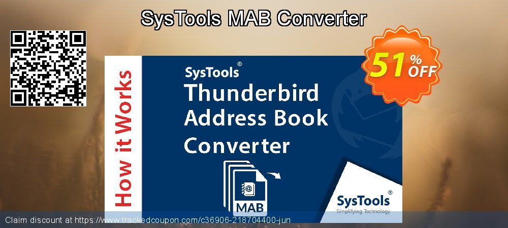 Claim 51% OFF SysTools MAB Converter Coupon discount June, 2021