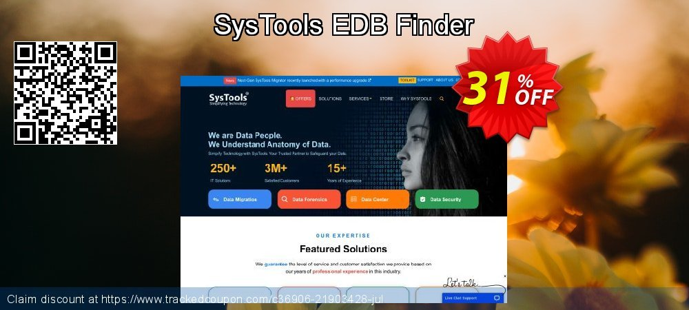 Get 30% OFF SysTools EDB Finder offering sales