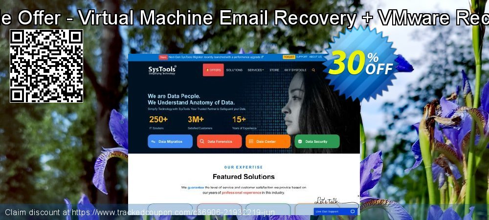 Bundle Offer - Virtual Machine Email Recovery + VMware Recovery coupon on All Saints' Eve discounts