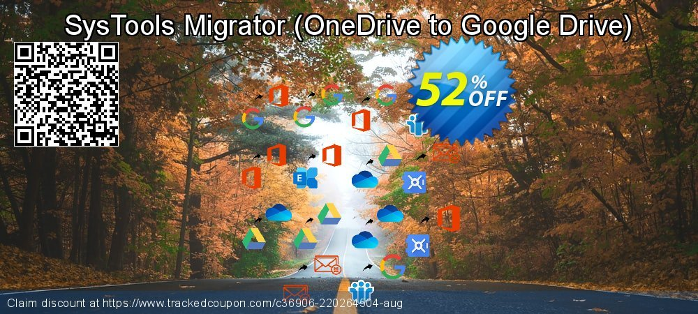 SysTools Migrator - OneDrive to Google Drive  coupon on Parents' Day sales