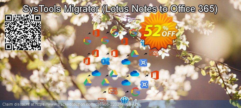 SysTools Migrator - Lotus Notes to Office 365  coupon on World Chocolate Day offering discount