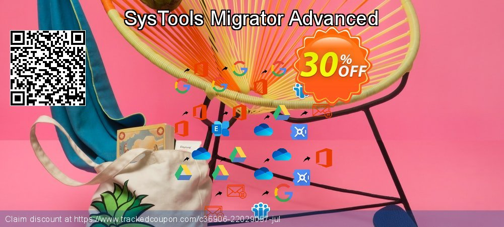 SysTools Migrator Advanced coupon on World Population Day offer