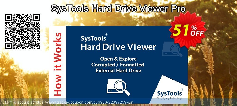 SysTools Hard Drive Data Viewer Pro coupon on April Fool's Day discounts