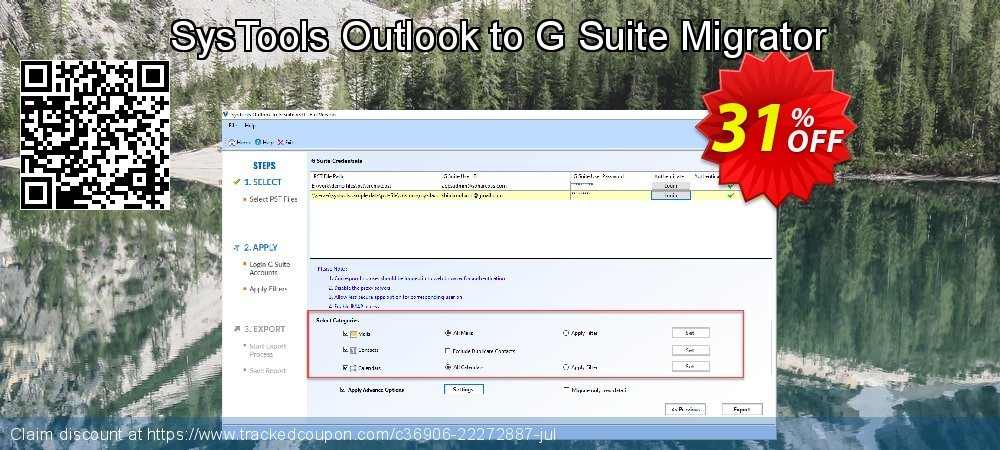 SysTools Outlook to G Suite coupon on April Fool's Day super sale