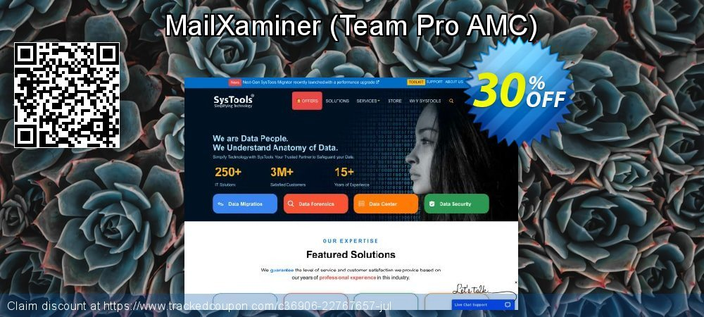 MailXaminer - Team Pro AMC  coupon on National Cleanup Day deals