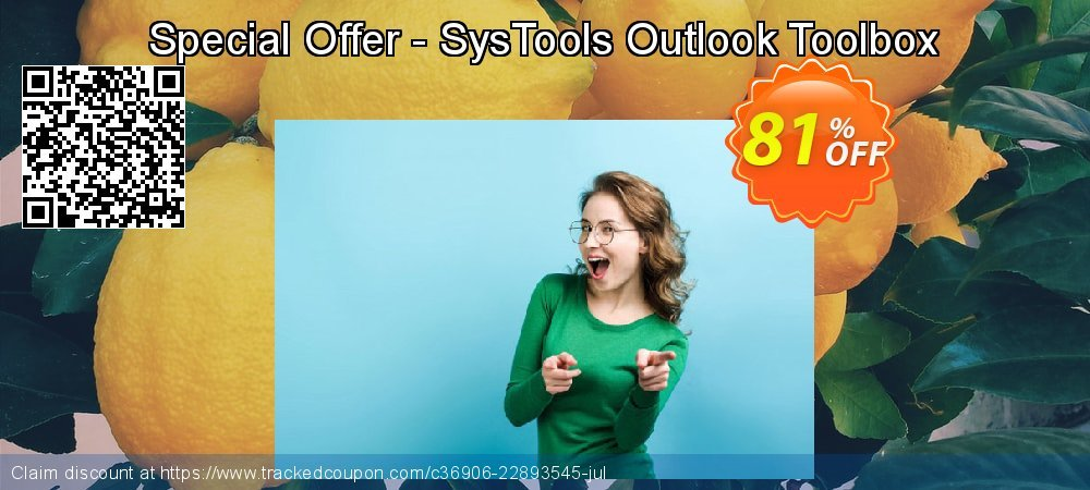 Special Offer - SysTools Outlook Toolbox coupon on Black Friday promotions