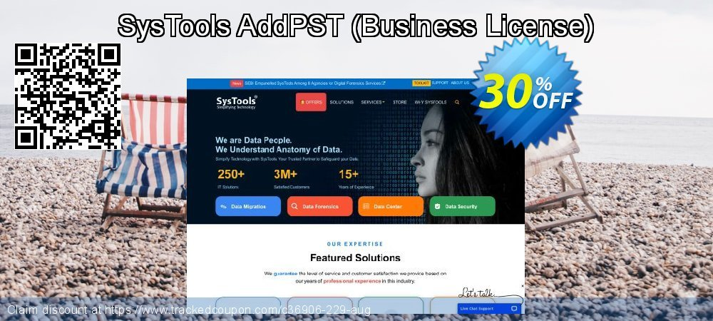 SysTools AddPST - Business License  coupon on April Fool's Day promotions