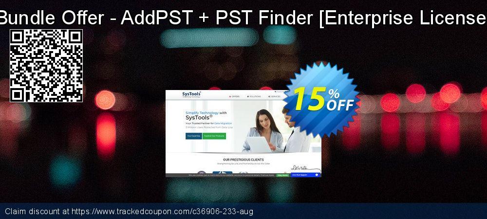 Get 15% OFF Bundle Offer - AddPST + PST Finder [Enterprise License] offering sales