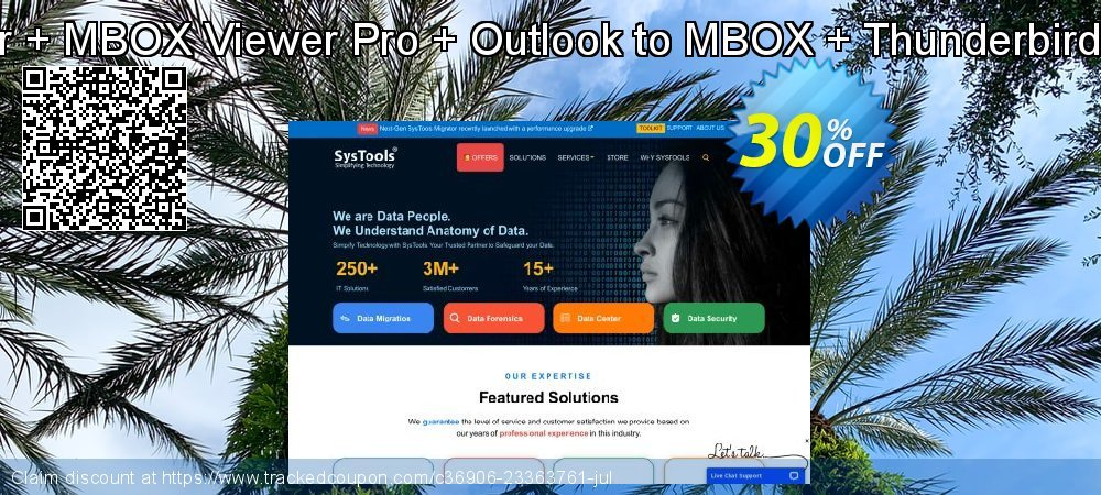 Get 30% OFF Special Bundle Offer - MBOX Converter + MBOX Viewer Pro + Outlook to MBOX + Thunderbird Address Book Converter + PST Merge offering sales