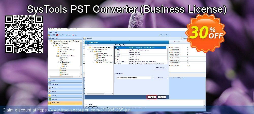 SysTools PST Converter - Business License  coupon on April Fool's Day promotions