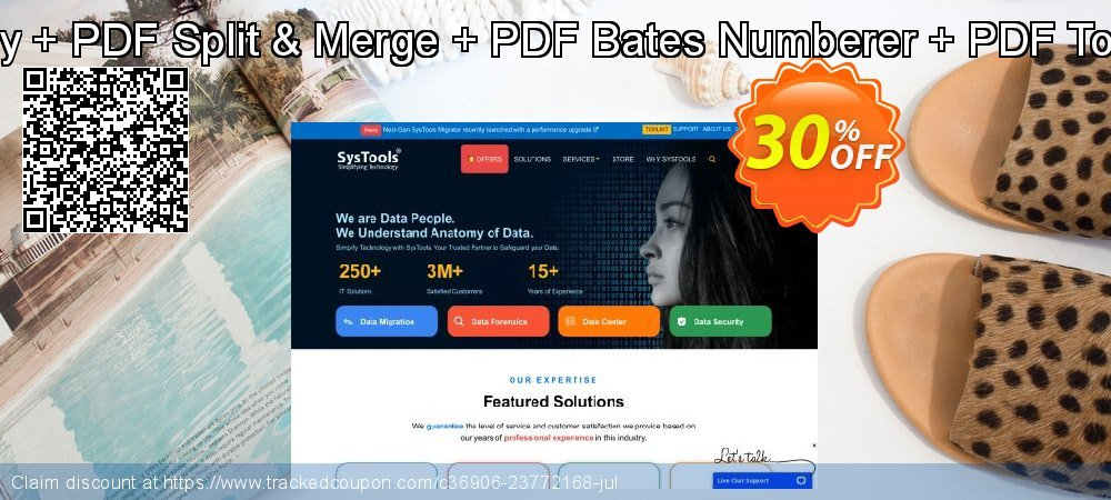 Special Bundle Offer - PDF Unlocker + PDF Recovery + PDF Split & Merge + PDF Bates Numberer + PDF Toolbox + PDF Watermark + PDF Watermark Remover coupon on Back to School offer discount